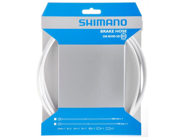 Shimano SM-BH90-SBS Bremsleitung weiß